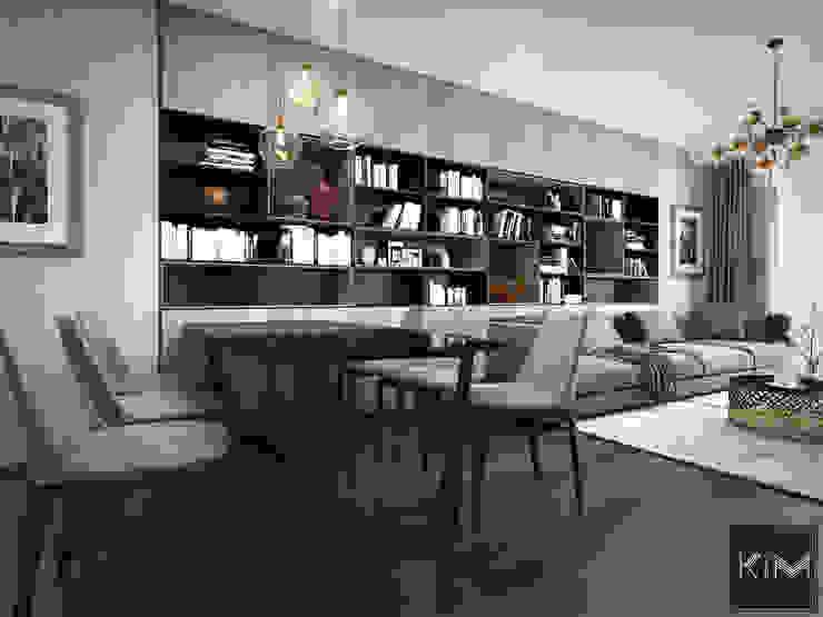 Dự án Five Star Garden Phòng ăn phong cách hiện đại bởi KIM - furniture Hiện đại