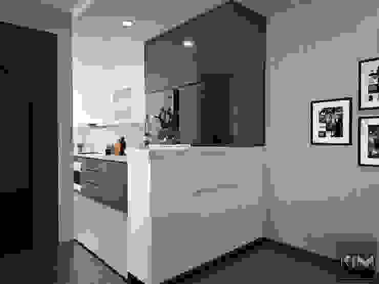 Dự án Five Star Garden Nhà bếp phong cách hiện đại bởi KIM - furniture Hiện đại