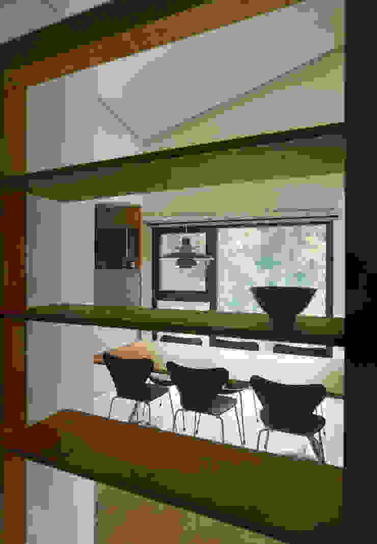 소수건축사사무소 Ruang Makan Modern