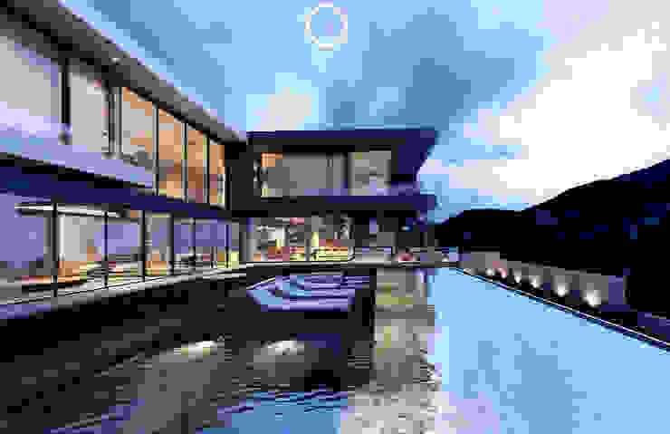 Infinity Pool Albercas modernas de Nova Arquitectura Moderno