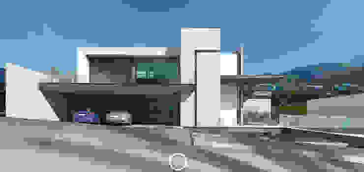 Fachada principal / Día Casas modernas de Nova Arquitectura Moderno