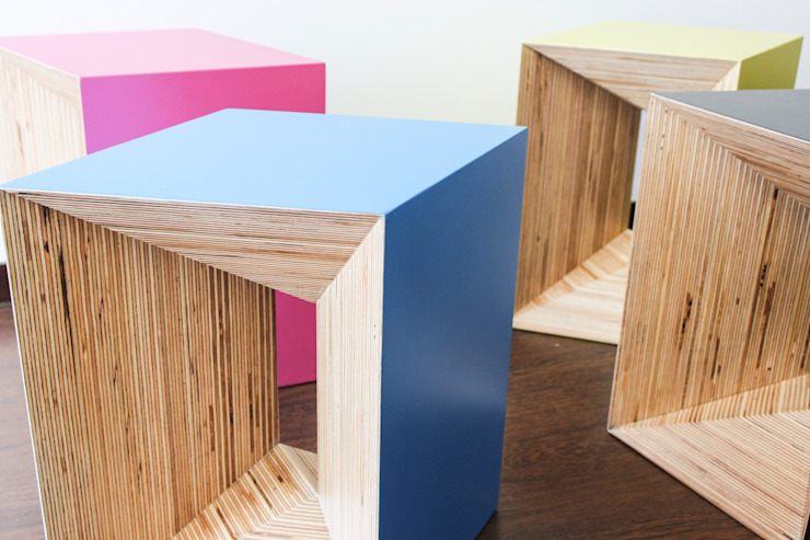 modern  by Studio Deusdara , Modern Plywood