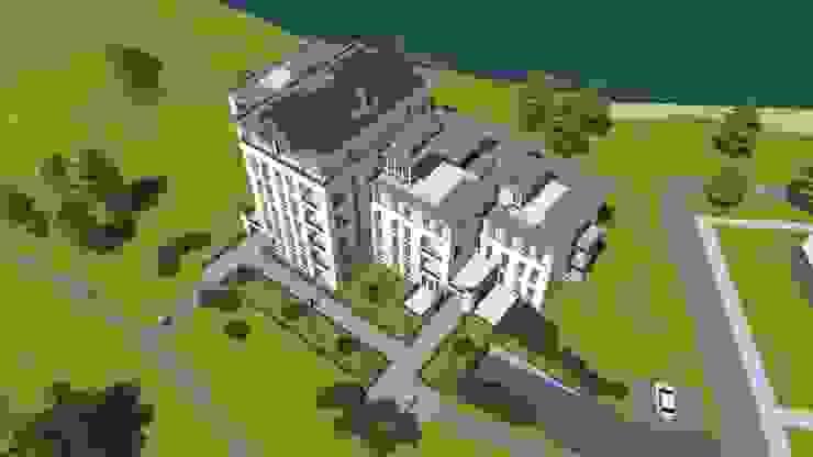 Waalre residentie De Meeris: modern  door watkostbouwen.nl , Modern