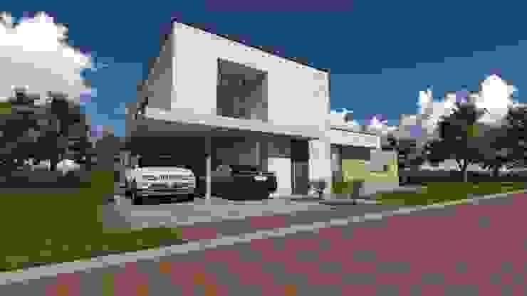 Waalre  villa F: modern  door watkostbouwen.nl , Modern