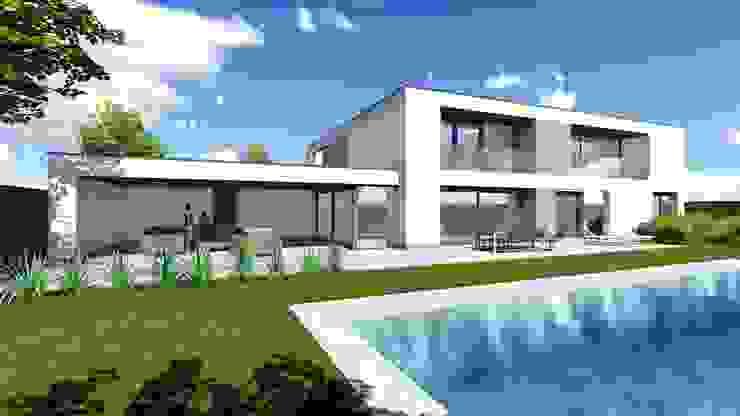 Geldrop villa S: modern  door watkostbouwen.nl , Modern