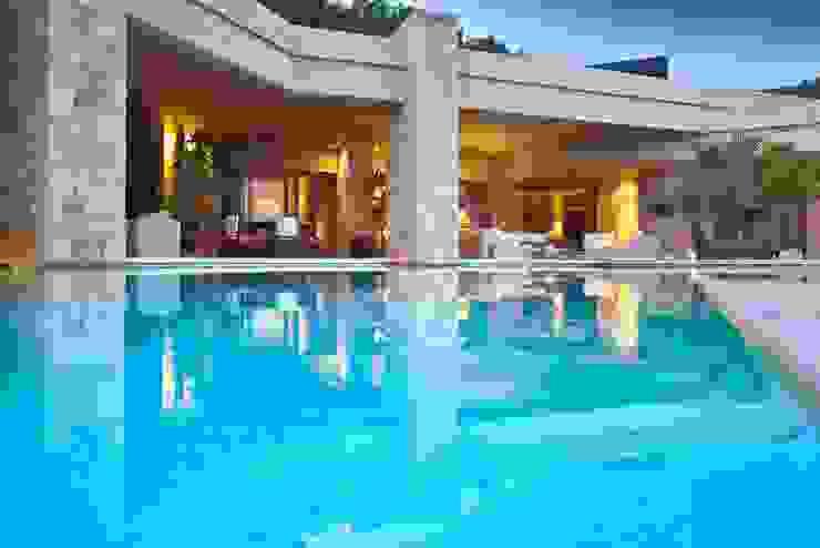 Modern Villa for sale in Ibiza de CW Group - Luxury Villas Ibiza Moderno Concreto
