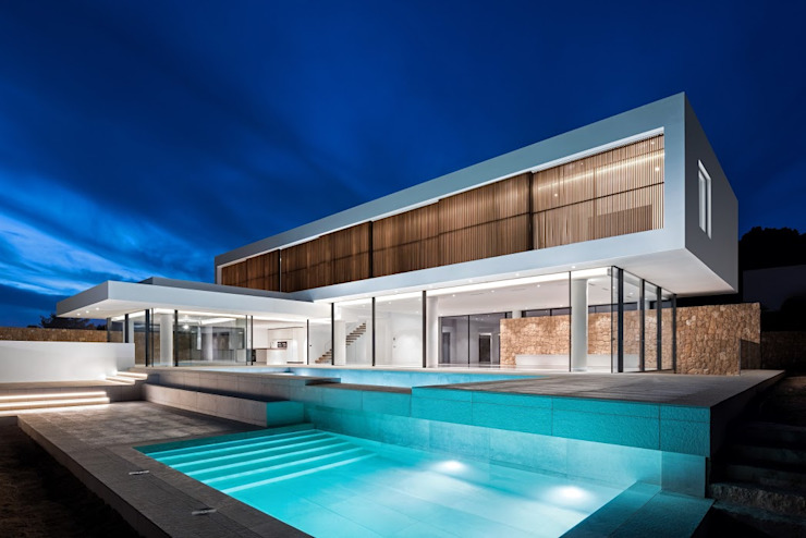 Villa in Ibiza Roca Lisa by CW Group - Luxury Villas Ibiza Modern Concrete