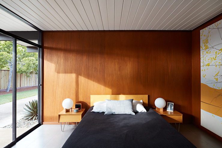 Bedroom by Klopf Architecture, Modern