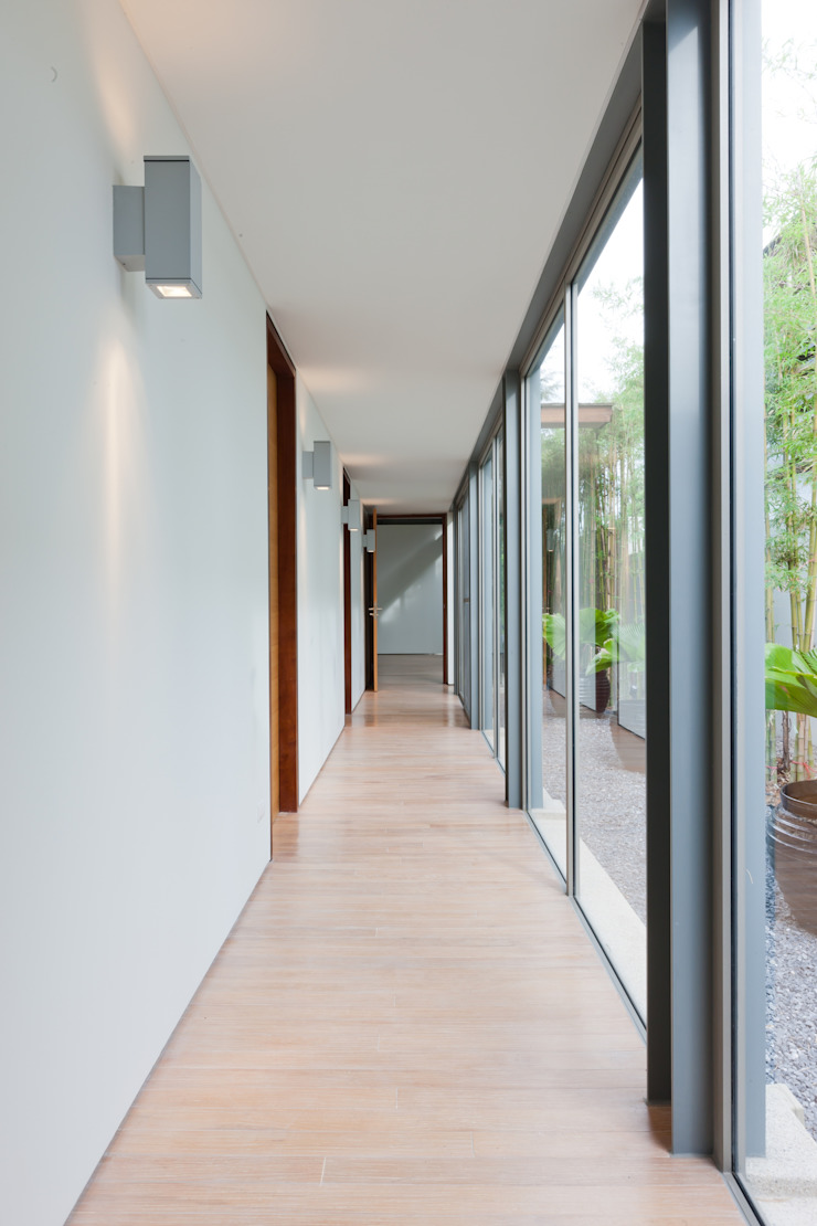 Original Vision Modern Corridor, Hallway and Staircase