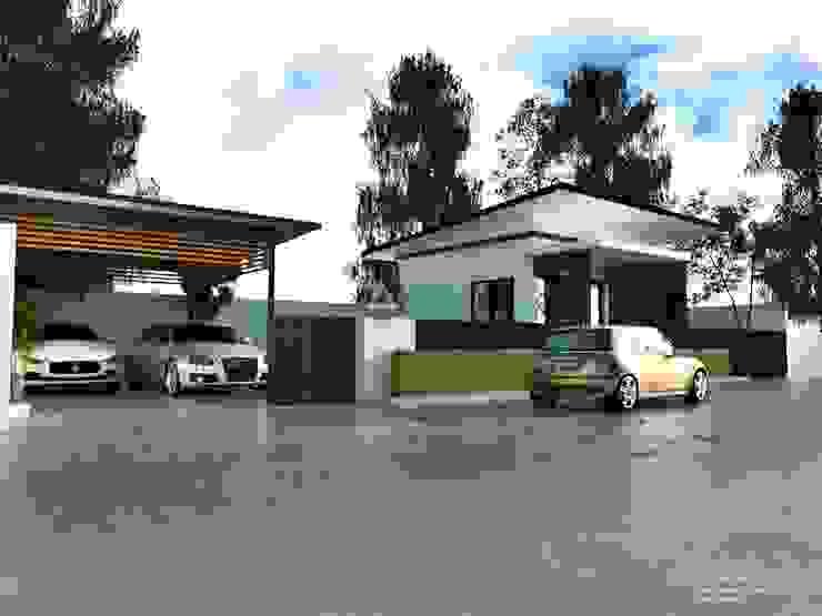 ออกแบบบ้าน modern style โดย SD DESIGN&STUDIO