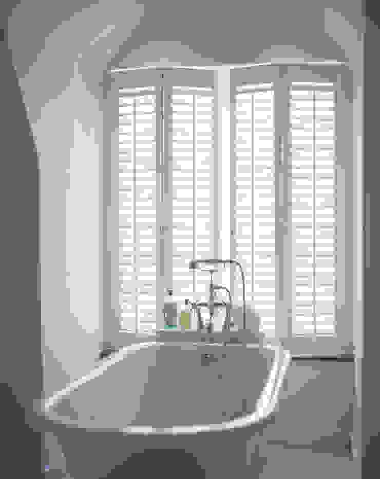 Bathroom Shutters Classic style bathroom by S:CRAFT Classic Plastic