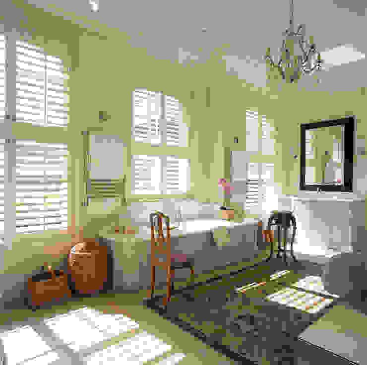 Phòng tắm phong cách kinh điển bởi S:CRAFT Kinh điển Nhựa