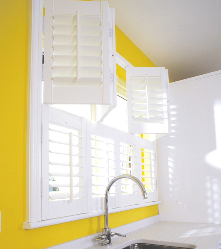 Kitchen Shutters by S:CRAFT Classic Wood-Plastic Composite