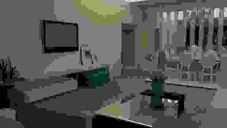 Detalhes Modernos Modern Living Room by STUDIO SPECIALE - ARQUITETURA & INTERIORES Modern Plastic