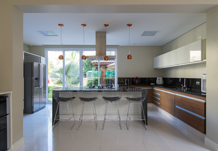 Camila Tiveron Arquitetura Dapur Modern