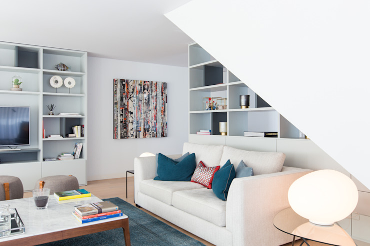 Sala de estar em Lisboa LAVRADIO DESIGN Sala de estarAcessórios e Decoração