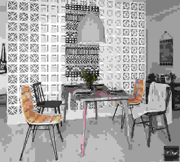Dự án Vinhomes Gardenia Phòng ăn phong cách hiện đại bởi KIM - furniture Hiện đại