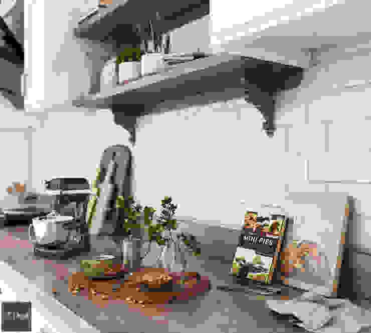Dự án Vinhomes Gardenia Nhà bếp phong cách hiện đại bởi KIM - furniture Hiện đại