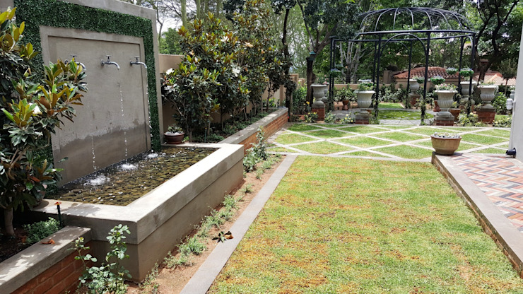 Waterkloof heights by Gorgeous Gardens Classic Bricks