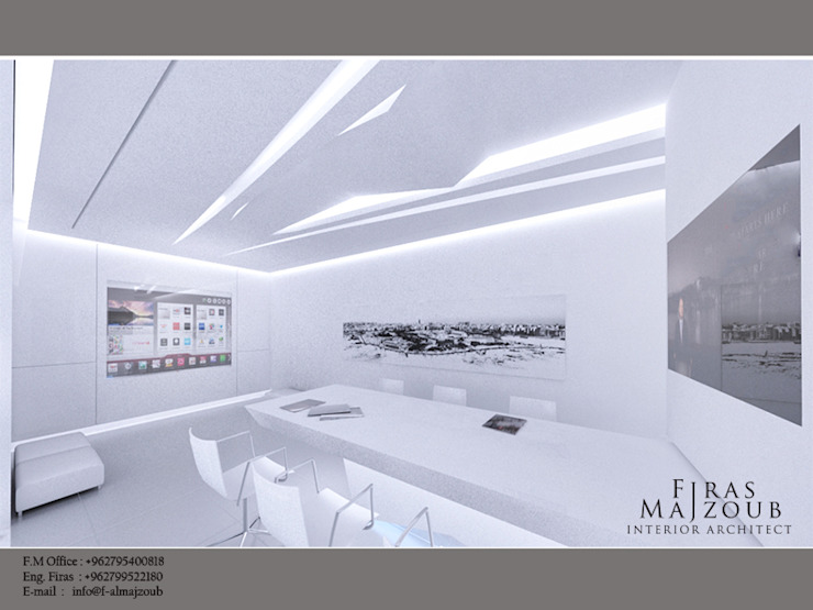 conference meeting hall by f.m interior architect Modern