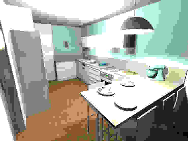 Proposition du projet en 3D par Scènes d'Intérieur Moderne