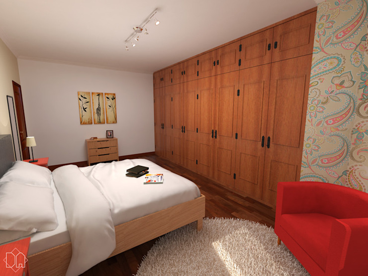 Dormitorios de estilo minimalista de Studio Bertoluci Minimalista