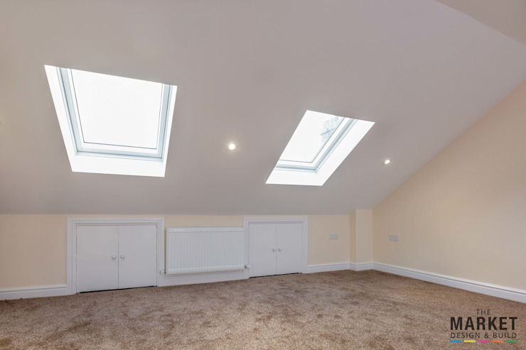 ISLEWORTH LOFT CONVERSION من The Market Design & Build حداثي