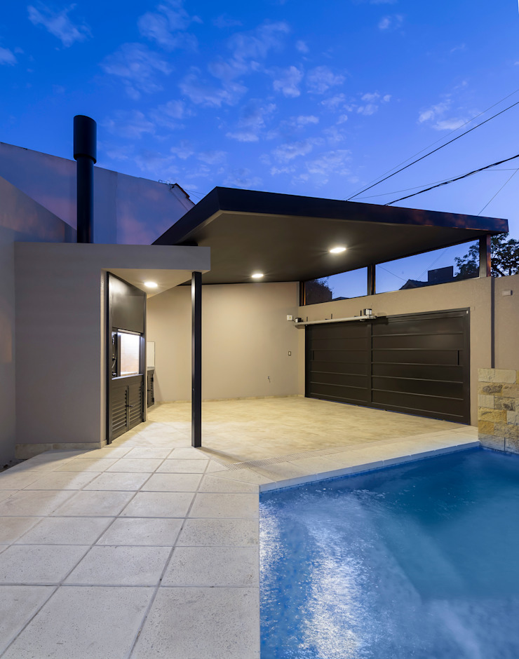 Modern Pool by D'ODORICO ARQUITECTURA Modern