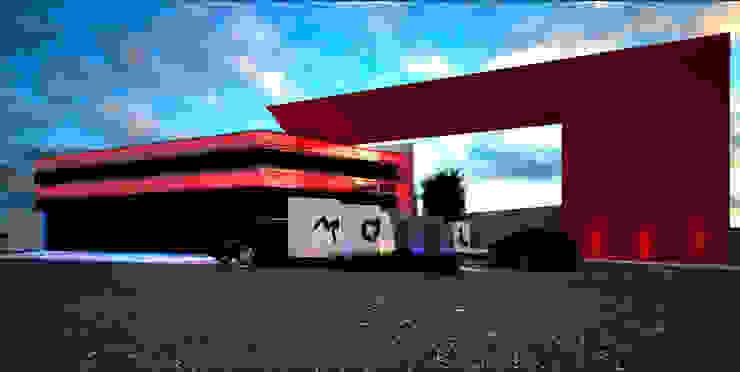 A-labastrum arquitectos Minimalist houses