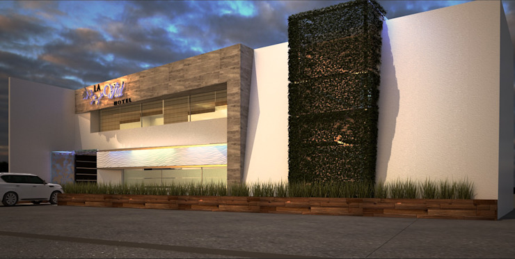 A-labastrum arquitectos Modern houses