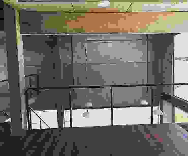 Casa Galpão M+R Quartos industriais por GhiorziTavares Arquitetura Industrial Concreto