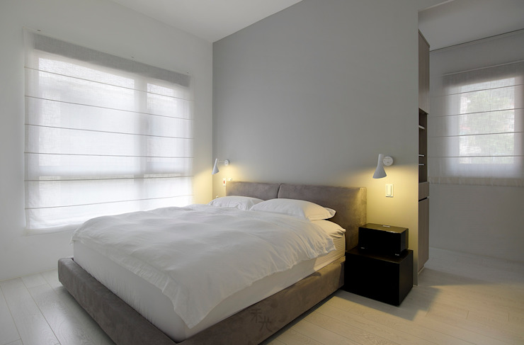 Dormitorios de estilo minimalista de 禾光室內裝修設計 ─ Her Guang Design Minimalista
