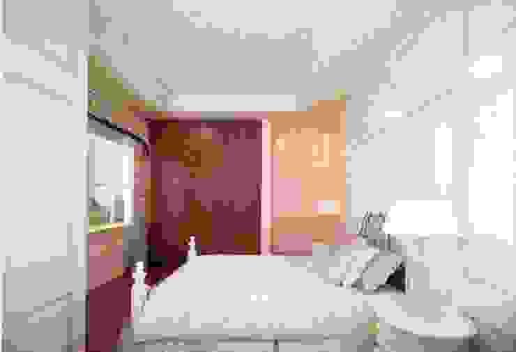 Không gian tiện nghi Phòng ngủ phong cách châu Á bởi Công ty TNHH TK XD Song Phát Châu Á Đồng / Đồng / Đồng thau