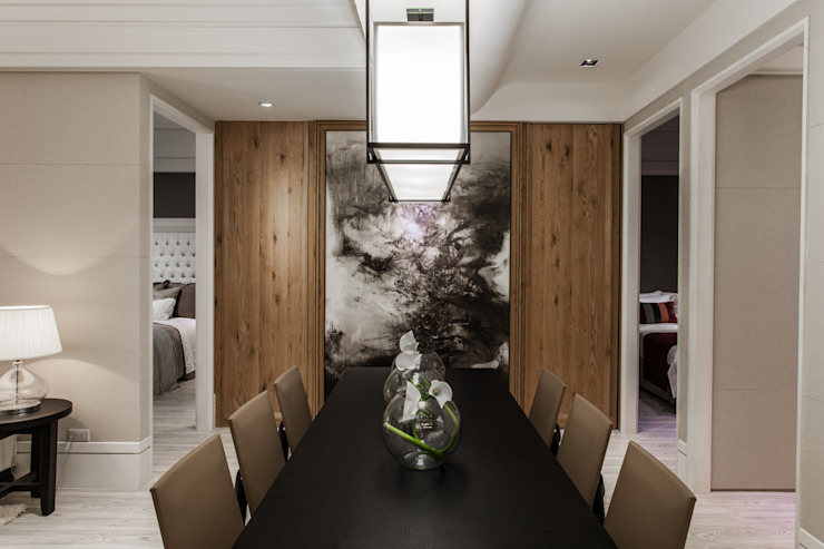 Dining room by 辰林設計,