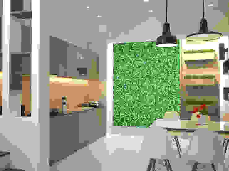 Kitchen units by Công ty TNHH Xây Dựng TM – DV Song Phát,