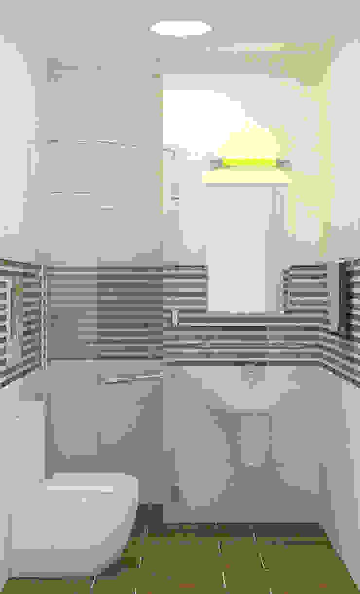 Nội thất phòng vệ sinh đơn giản nhưng tiện nghi Phòng tắm phong cách hiện đại bởi Công ty TNHH Xây Dựng TM – DV Song Phát Hiện đại
