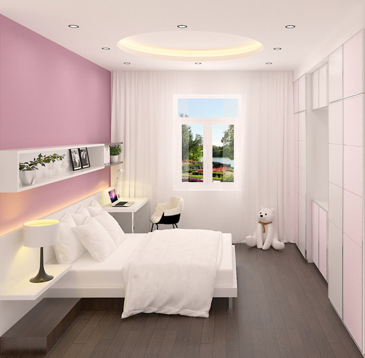 Thiết kế phòng ngủ mang phong cách riêng Phòng ngủ phong cách hiện đại bởi Công ty TNHH Xây Dựng TM – DV Song Phát Hiện đại