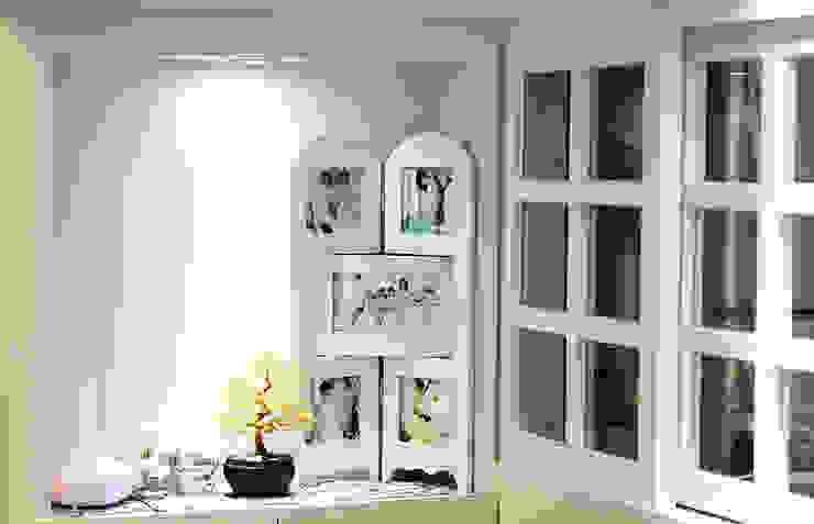 YU SPACE DESIGN Salas de estilo moderno Contrachapado Blanco
