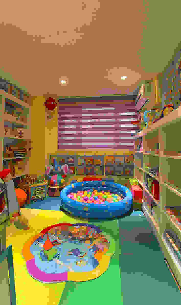 YU SPACE DESIGN Baby room Engineered Wood Orange
