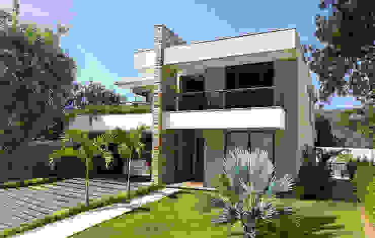 Rumah Modern Oleh Cláudio Maurício e Paulo Henrique Modern