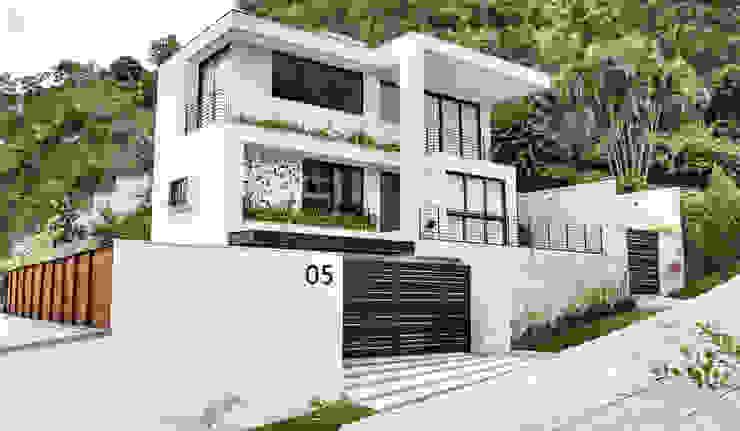 現代房屋設計點子、靈感 & 圖片 根據 Cláudio Maurício e Paulo Henrique 現代風
