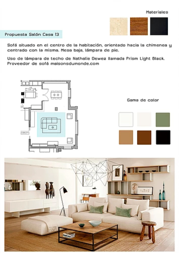 Cristina Lobo Modern living room