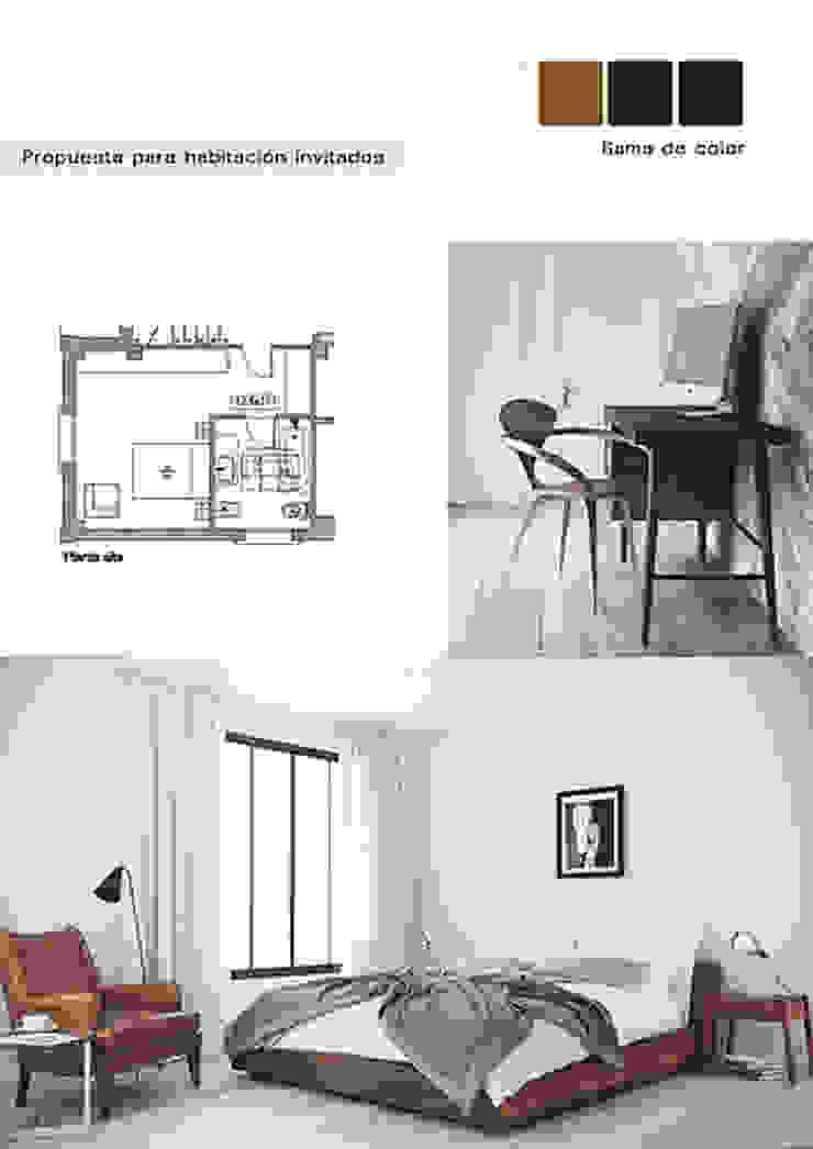 Cristina Lobo Modern style bedroom