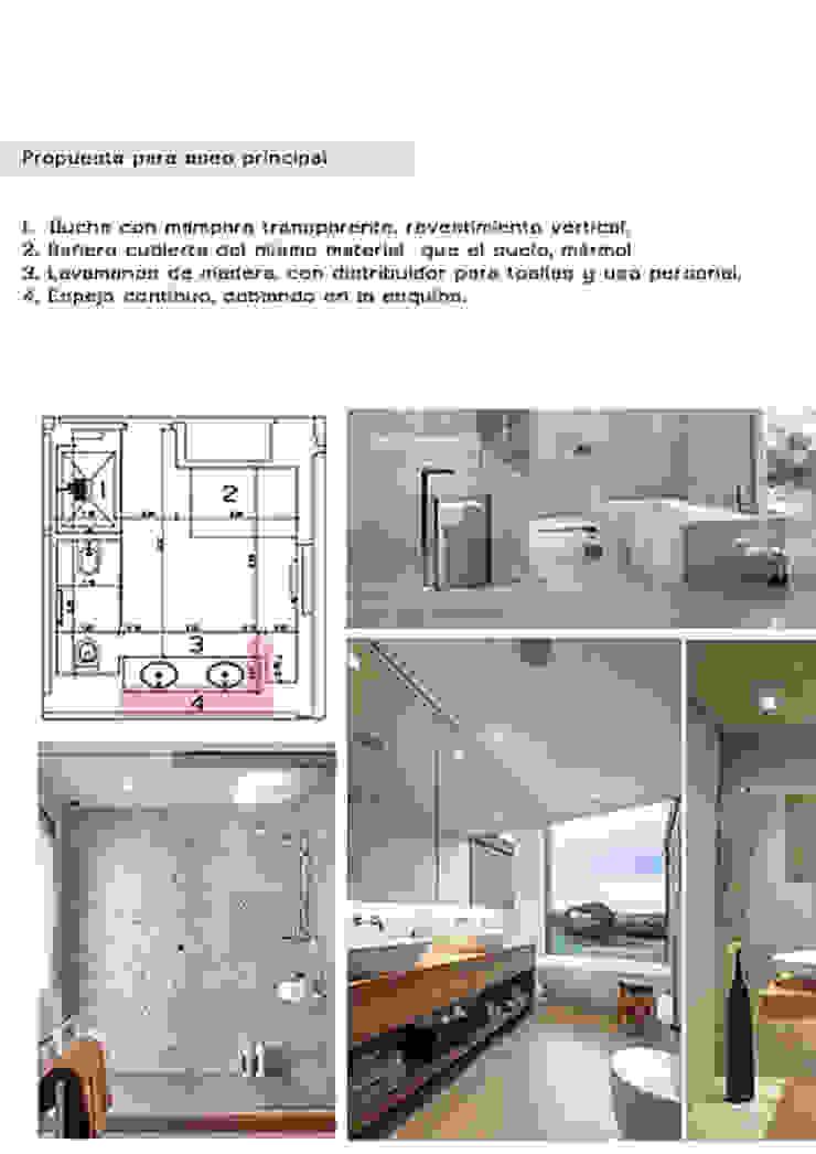 Cristina Lobo Modern bathroom