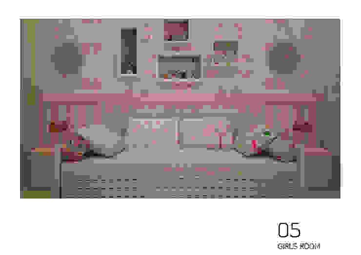 Cristina Lobo BedroomBeds & headboards Pink