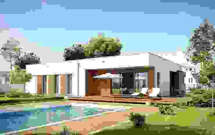 Casas khung cửa bằng thép ở Tây Ban Nha bởi FHS Casas Prefabricadas Hiện đại Thạch anh