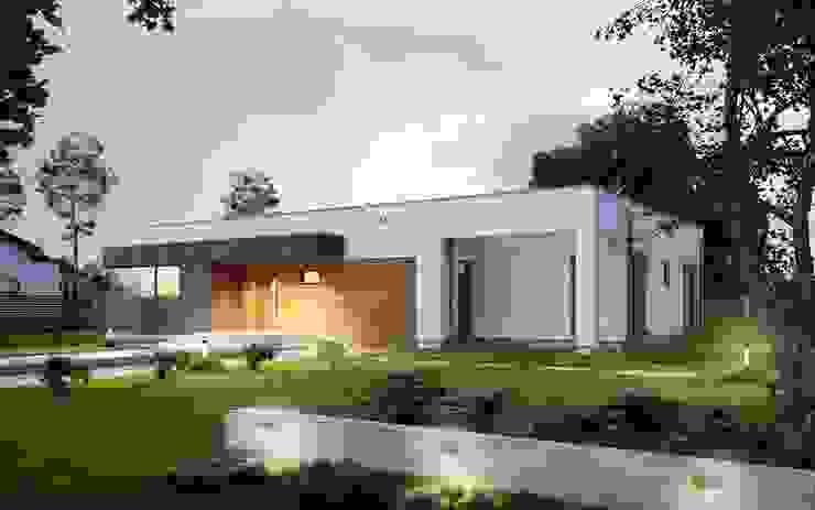 Casas khung cửa bằng thép ở Tây Ban Nha Du thuyền & phi cơ phong cách hiện đại bởi FHS Casas Prefabricadas Hiện đại Bê tông cốt thép
