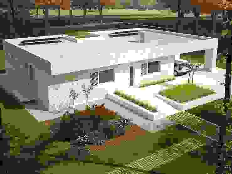 خانه های پیش ساخته از قاب فولادی در اسپانیا by FHS Casas Prefabricadas Modern