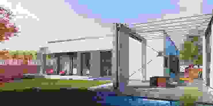 Casas prefabricadas de Steel frame in Spain من FHS Casas Prefabricadas