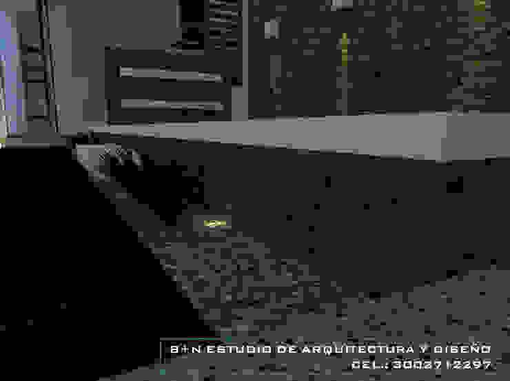 B+N Estudio de Arquitectura y Diseño Modern balcony, veranda & terrace